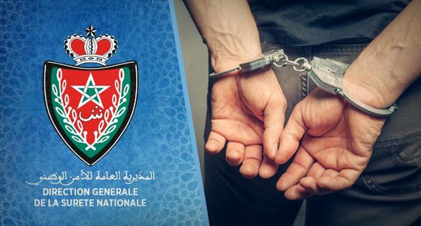 مراكش : إيقاف شخص من ذوي السوابق العدلية في مجال السرقة