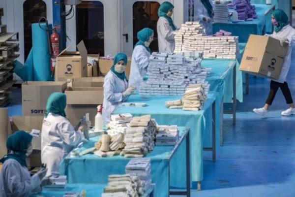 بعد الصين المغرب يرسل 10 ملايين كمامة للولايات  الأمريكية ويدرس طلبا مماثلا من الاتحاد الاوروبي