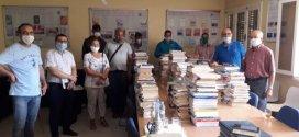 مركز التنمية لجهة تانسيفت ينظم حملة تضامنية مع المتضررين من حريق الكتب بباب دكالة