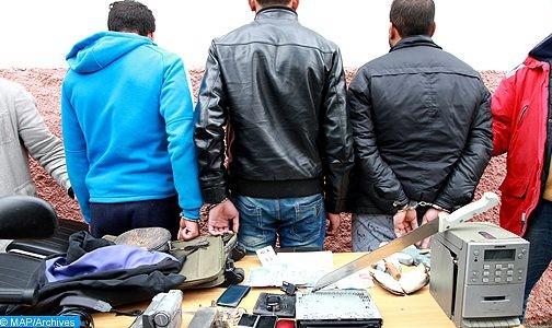 توقيف ثلاثة أشخاص للاشتباه في تورطهم في حيازة وترويج المخدرات والمؤثرات العقلية