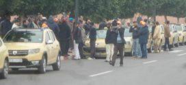 عدم استجابة والي الجهة بخصوص القرار 942 يخرج أصحاب الطاكسيات بمراكش للاحتجاج