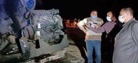 مصرع 20 شخصا في حادث تصادم بمصر
