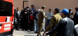 مراكش: إصابة عنصر من القوات المساعدة في حادث اعتداء من طرف أحد الفراشة بالمحاميد