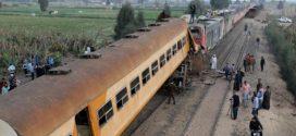 خروج قطار عن مساره يخلف عددا من الإصابات في مصر