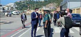 رئيس الحكومة الاسبانية يصل الى سبتة و يصرح: سنعيد النظام في المدينة و حدودها بأسرع وقت
