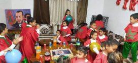بابن جرير :أطفال مركز ام المومنين عائشة يحتفلون بذكرى ميلاد ولي العهد الأمير مولاي الحسن.
