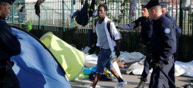 مهاجرون سريون من بينهم مغاربة  تحت رحمة شوارع باريس الباردة..
