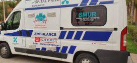 مستشفى خاص بمراكش يستغل سيارات الاسعاف للترويج لاسمها