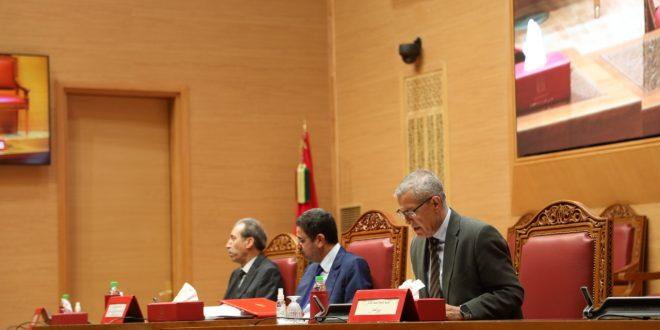 كلمة محمد بنعبد القادر وزير العدل بمناسبة اللقاء التواصلي مع المسؤولين القضائيين