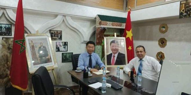 جمعية الصداقة بين الصين والمغرب تعلن تضامنها الكامل واللامشروط مع المغرب.