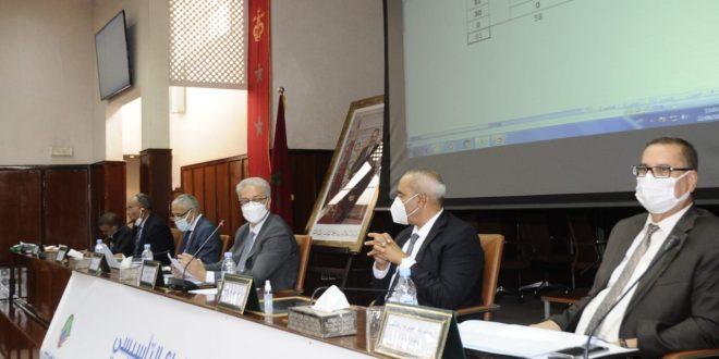 انتخاب الحبيب بن الطالب رئيسا لمجلس وكالة الحوض المائي لتانسيفت بحضور والي مراكش